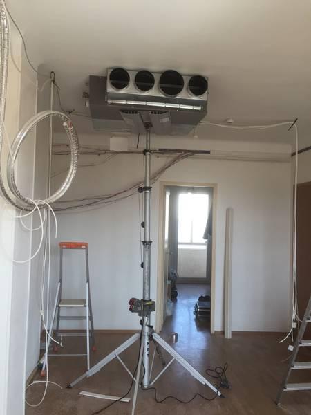 climatiseur mobile reversible mode chauffage